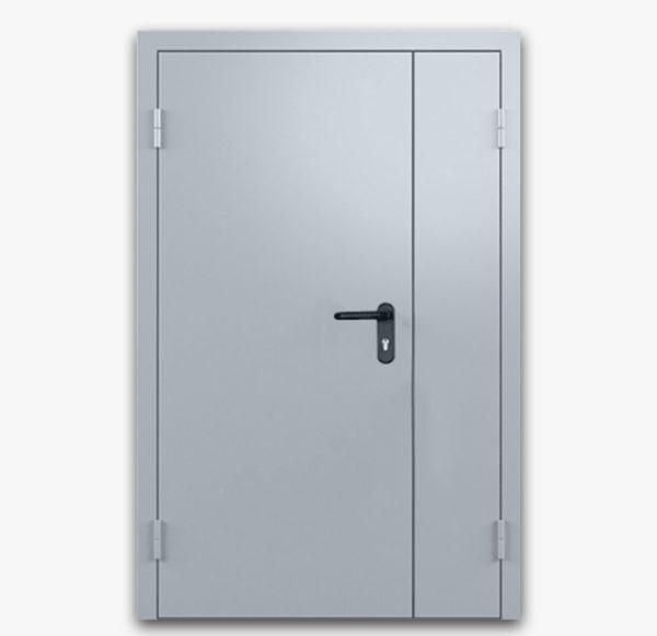 Дверь противопожарная металлическая двупольная 02/60 EI60
